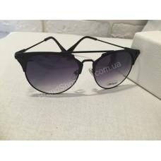 Солнцезащитные очки Dior чёрные 0153