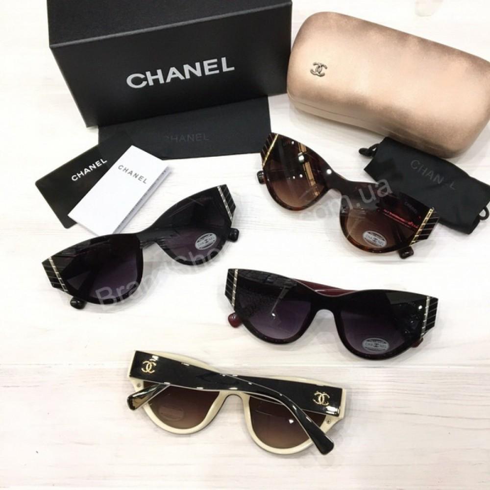 Очки Chanel Lux женские в полном комплекте арт 21478