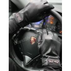 Перчатки мужские кожа Philipp Plein cron P0902