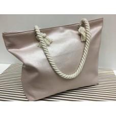 Элегантная пляжная сумочка в жемчужном цвете 1332