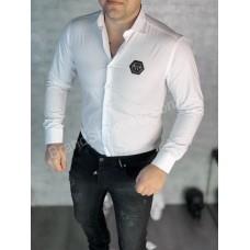 Рубашка мужская Philipp Plein white P0859