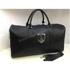 Спортивно-дорожная сумка Philipp Plein в черном цвете арт 20125
