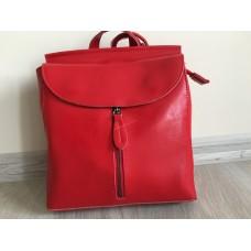 Женский рюкзак красный 0456