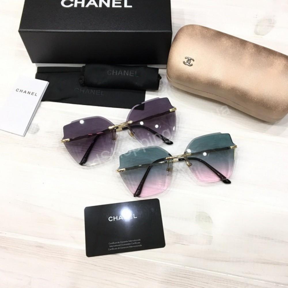 Очки Chanel в полном комплекте арт 21185
