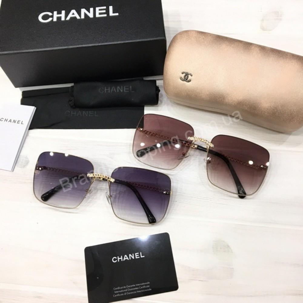 Очки Chanel в полном комплекте арт 21187