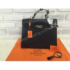 Оригинальная женская кожаная сумка Hermes Kelly 0088