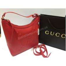 Стильная женская сумочка Gucci красная 1467