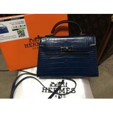 ХИТ! Ультра модная сумочка Hermes Kelly mini рептилия арт 20349