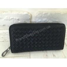 Плетеный кожаный кошелек Bottega 1010