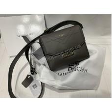 Женская сумка Givenchy реплика натуральная кожа в сером цвете арт 20304