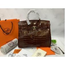 Женская сумка Hermes Birkin 35см рептилия арт 20307