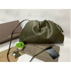 Сумка клатч Bottega Veneta pouch standart  цвет хаки арт 20309