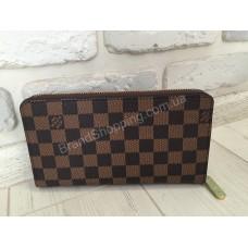 Модный кошелек Louis Vuitton коричневый 0114
