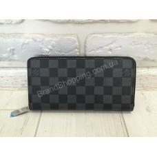 Стильный кошелек Louis Vuitton серый 0117