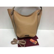 Женская сумка экокожа коричневого цвета 1391