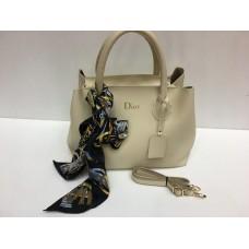 Женская сумочка Dior бежевая 1392
