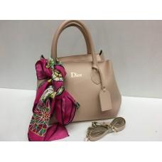 Женская сумочка Dior нежно розовая 1393