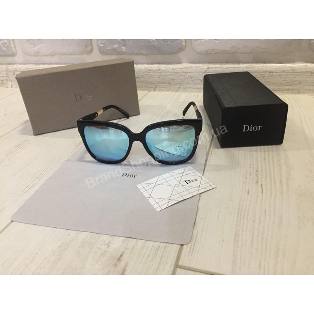 NEW 2018!!Очки солнцезащитные DIOR синие зеркальные1767