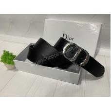 Ремень унисекс Christian Dior натуральная кожа 4 см арт 20320