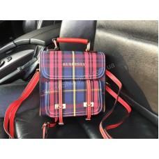 ХИТ 2018!Стильный рюкзак-сумка Burberry в красном цвете 1792