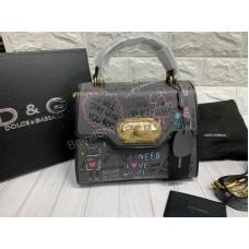 Женская сумочка Dolce&Gabbana в сером цвете арт20321
