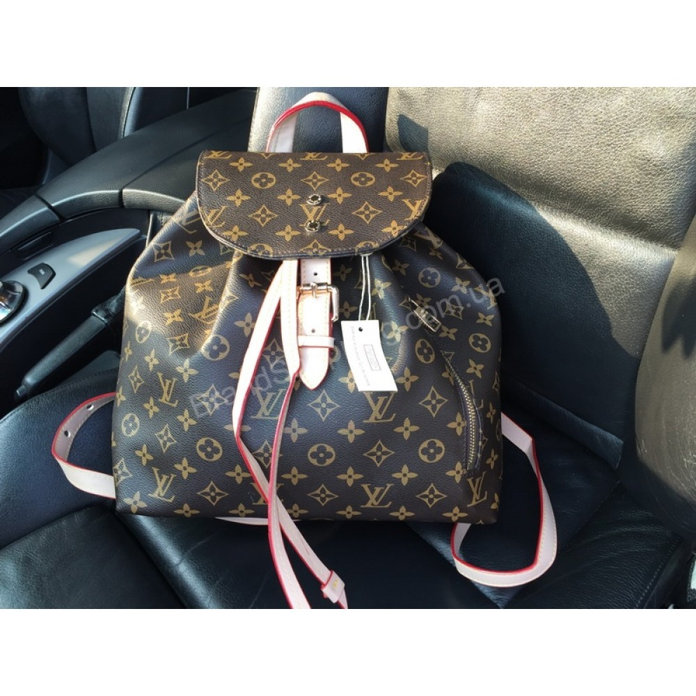 Шикарный рюкзак Louis Vuitton материал канва код товара 1793