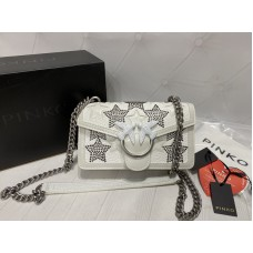 Сумка Pinko белая в полном комплекте арт 21513