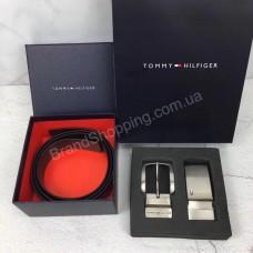Мужской подарочный набор Tommy Hilfiger ремень 2в 1 с пряжкой арт 20331