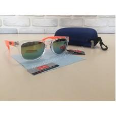 NEW 2018!Шикарные солнцезащитные очки  Ray Ban унисекс с яркими дужками и светлой оправой 1798