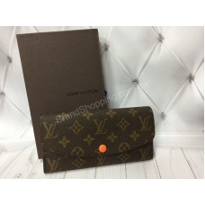 Кошелек Louis Vuitton из натуральной кожи канва реплика арт 20386