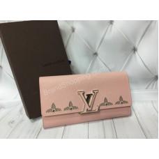 Кошелек Louis Vuitton в полном комплекте из натуральной кожи реплика арт 20373