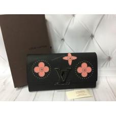 Кошелек Louis Vuitton в полном комплекте из натуральной кожи реплика арт 20374
