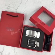 Ремень Hugo Boss 2 в1 в подарочной упаковке арт 20345