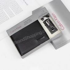 Подарочный набор Calvin Klein кошелек и зажим арт 20352
