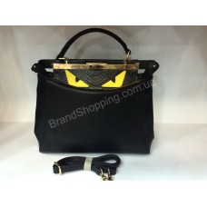 Женская кожаная сумка Fendi 0165s