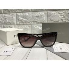 Очки Dior коричневые реплика в полном комплекте арт 20577
