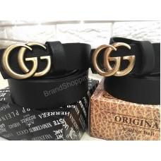 Модный ремень Gucci натуральная кожа