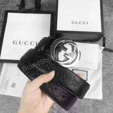 Ремень Gucci копия класса ААА в полном комплекте арт 20366