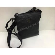 Кожаная мужская сумка Prada 1637