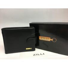 Мужское кожаное портмоне Zilli с зажимом 1410