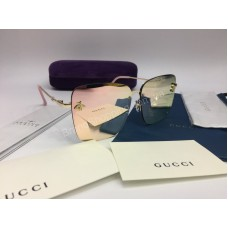 NEW 2018 Очки солнцезащитные женские зеркальные в нежно -розовом цвете хамелеон 2033