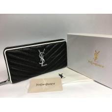 Женский кожаный кошелек YSL 1416
