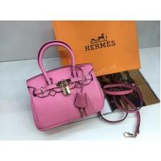 ХИТ! Стильная брендовая сумочка Hermes Birkin Lux  длина 20см 1802