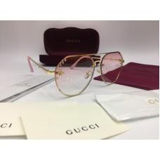 NEW 2018 Очки солнцезащитные Gucci  в пудровом цвете с стразами Swarovski арт 2037