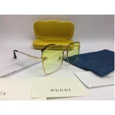 NEW 2018 Очки солнцезащитные Gucci  в желтом цвете арт 2042