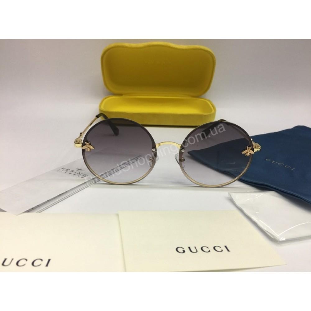 Хит 2018 Шикарные солнцезащитные женские очки Gucci 2043
