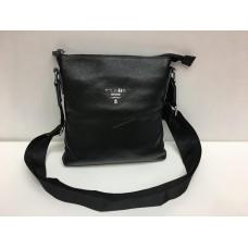 Кожаная мужская сумка Prada 1428