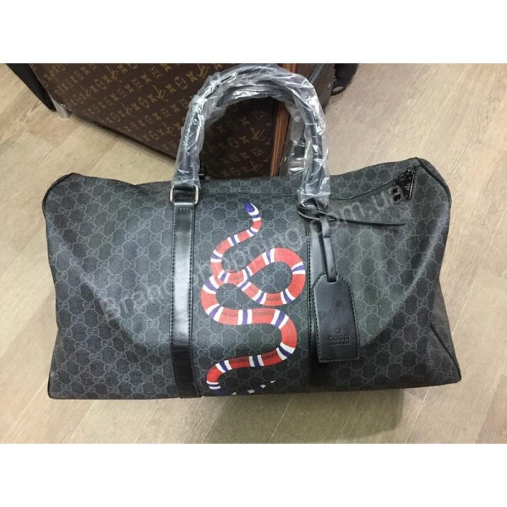 Спортивно-дорожная сумка Gucci Lux арт 20441