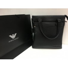 Мужcкая кожаная сумка Armani 1417
