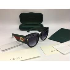 NEW 2018 Шикарные очки GUCCI солнцезащитные  в полном комплекте арт 2053